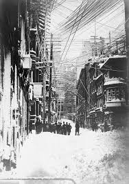 Worst Snowstorms In History Pictures From The Worst Winter Blizzards In New York City History