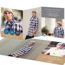 tri fold graduation announcements graduation invitations custom designs from pear tree