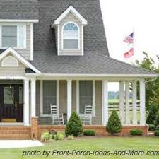 Colonial House With Farmers Porch Country Porches Wrap Around Porches Farm House