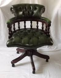 Antique Swivel Office Chair by Antiques Atlas Victorian Style Leather Swivel Office Chair