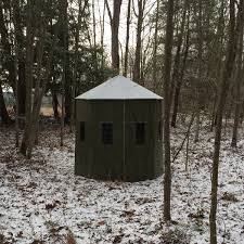 Bow Hunting Box Blinds Ghostblind Octagon Hunting Box Blind Diy Kit U2013 8 Sided U2013 Ghostblind