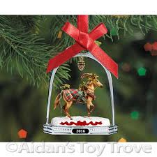 breyer 2016 woodland splendor stirrup ornament 700317