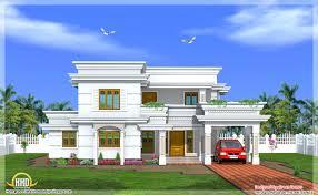 kerala modern home design 2015 modern two story bedroom house kerala home design home building