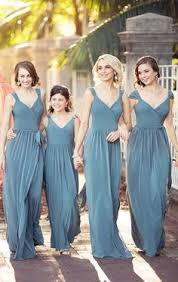 slate blue bridesmaid dresses slate blue is the new color to obsess for your wedding