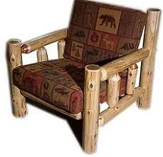 log futon beds rustic futons cabin style futon folding sofa log