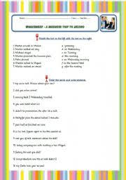 english teaching worksheets listening comprehension
