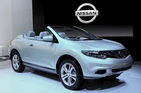 nissan crosscabriolet nissan murano cross cabriolet nissan shows open suv garage car