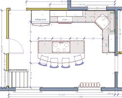 kitchen with island floor plans kitchen island floor plans for designs sle layouts mesirci