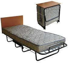 Folding Bed With Mattress Complete Folding Bed With Innerspring Mattress Rollaway Beds