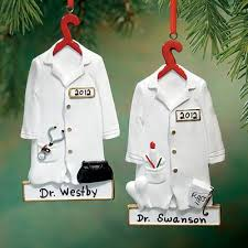 gift idea personalized doctor ornament pintowingifts gifts