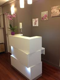 Desk Small Zen Inspired Salon Reception Desk Jpg