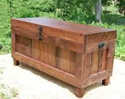red mahogany extra large hope chest end of the bed bench
