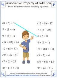 associative property of addition math pinterest associative