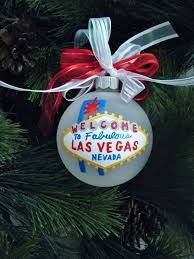las vegas ornament welcome to las vegas personalized