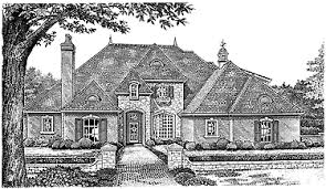 chateauesque house plans chateau estate hwbdo10068 chateauesque house plan from