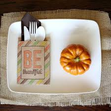 thanksgiving place setting thanksgiving table tip junkie