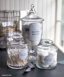 Bathroom Storage Jars Astonishing Bathroom Best 25 Apothecary Jars Ideas On Pinterest