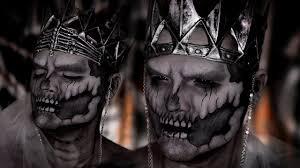 Wraith Halloween Costume Undead Wraith King Halloween Makeup Tutorial Ft Jordan Hanz
