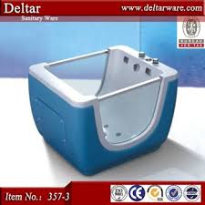 Baby Foldable Bathtub Blue Color Standing Baby Bath Tub Baby Folding Bathtub Small