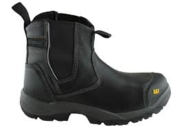 caterpillar cat propane mens steel toe safety boots brand house