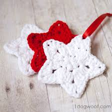 crochet ornament pattern one woof