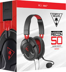 turtle beach black friday turtle beach ear force recon 50 over the ear gaming headset for pc