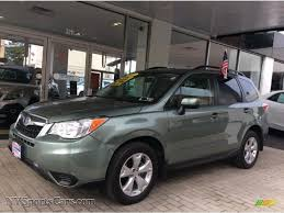 green subaru 2015 subaru forester 2 5i premium in jasmine green metallic