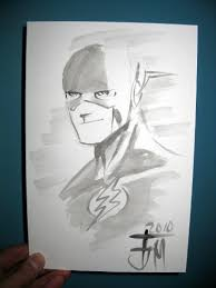 flash sketch by francis manapul speed force