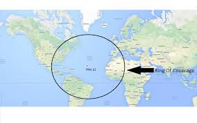 World Map With Longitude And Latitude Degrees by Wgs84 How To Find Ring Of Coverage Of Gps Satellite On Wgs 84