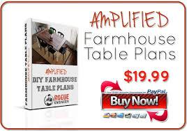Buy Farmhouse Table Diy Farmhouse Table Free Plans Rogue Engineer