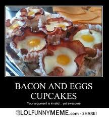 Funny Bacon Meme - lol funny meme breakfast like a boss