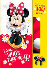 minnie mouse card table greeting card mickey mouse happy birthday card new minnie mouse