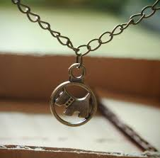 wholesale animal necklace images Cute dog pendant necklace bronze handmade animal necklace jpg