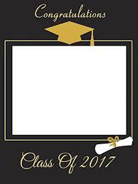 Home Decor Photo Frames Amazon Com Custom Home Décor Graduation Photo Booth Frame Prop