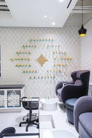 astek enlivens 5 spaces with digital wall covering inspired by ornate details astek s jazz age gilded pattern creates a feeling of opulence and luxury inside this southern california nail salon designed by
