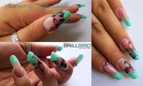 dessin sur ongle en gel été nail art by supernana