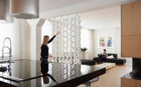 Room Dividers Diy by Approach Diy Sotto Hanging Room Divider With Table Black Dividers