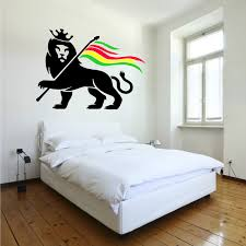 online get cheap marley vinyl aliexpress alibaba group rasta lion rastafari judah bob marley vinyl wall art sticker decal
