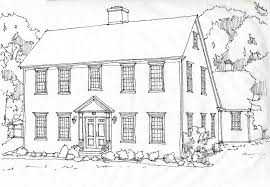 federal style home plans colonial homesclassic colonial homes