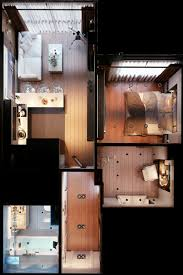 tiny apartment floor plans distinctly themed apartments under square feet with floor plans sq