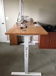Desk Review Review The Uplift Adjustable Height Sit Stand Desk Appletell