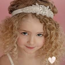 rhinestone headbands flower girl headband rhinestone headband baby headbands gatsby
