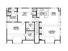 Three Car Garage With Apartment Plans 2 Bed 1 5 Bath Open Floor Plan 2 Bay Garage Apartment Plan