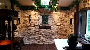 stone veneer panels as you can see for the picture skipping a step