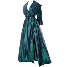 carolyne roehm vintage dress iridescent bergdorf goodman taffeta