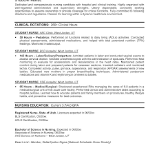 exle rn resume nursing graduate resume sles new templateool application baylor