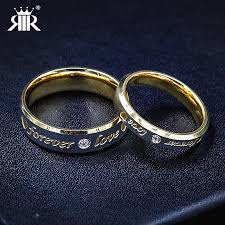 promise engagement and wedding ring set rir promise engagement rings for couples gold