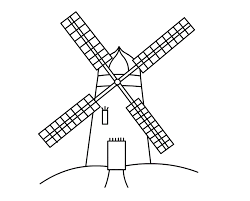 energy windmills clipart 7