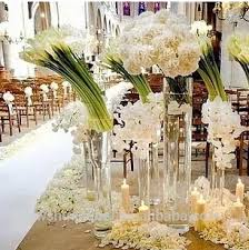 Florist Vases Wholesale Transparent Cylinder Shape Wedding Glass Vases Wholesale Home