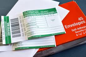 Where Does Stamp Go On Envelope How To Prepare And Mail Certified Letters Bizfluent